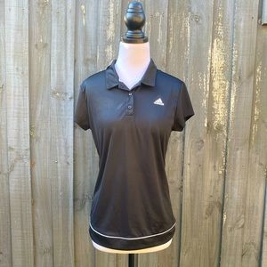 Adidas Climalite Activewear Tennis Polo T Shirt M